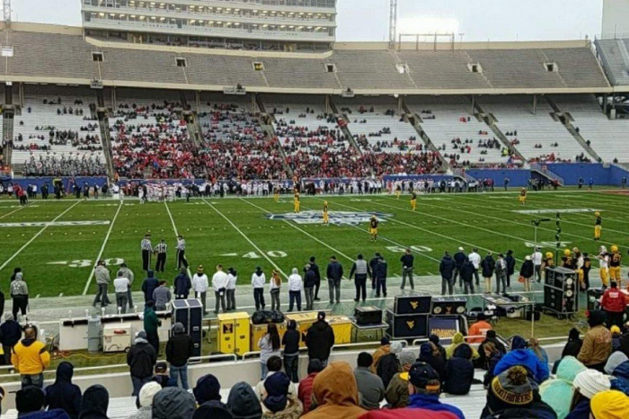 Tuesday's bowl game looks like it might have the set the record for worst bowl attendance so far this season