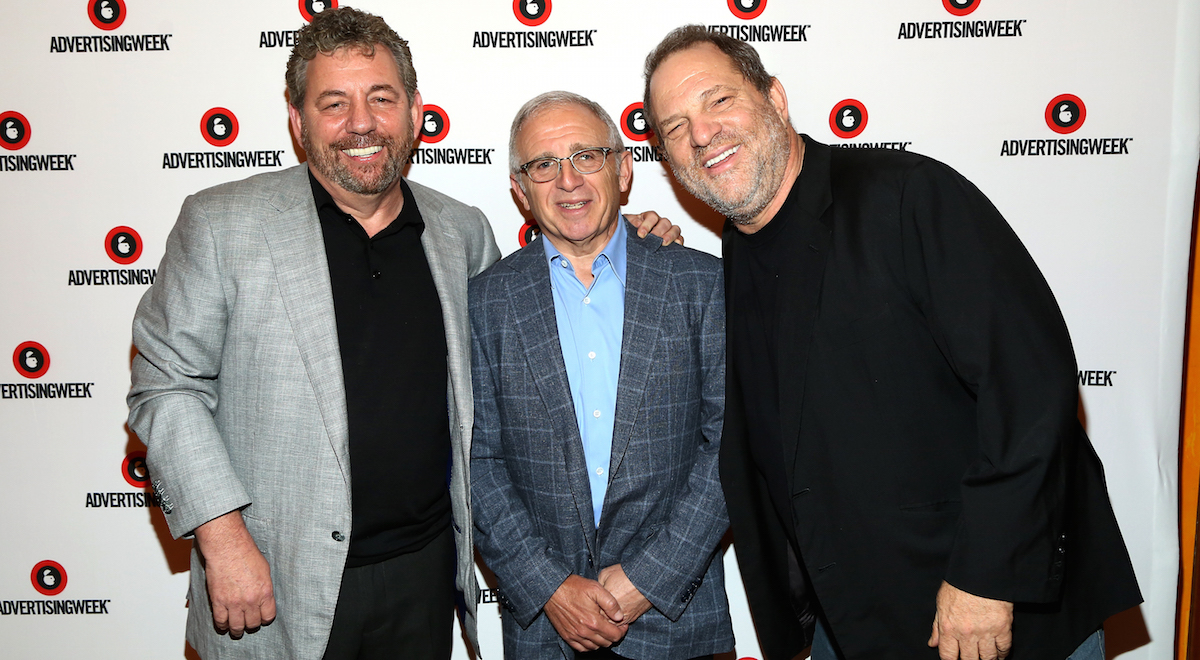 Knicks owner James Dolan now facing accusations in Harvey Weinstein scandal