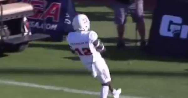 Former FSU, Auburn QB James Franklin III had a guaranteed TD until he made an enormous mistake