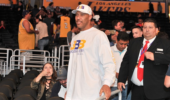 The Los Angeles Lakers are reportedly enforcing a 'LaVar Ball rule'
