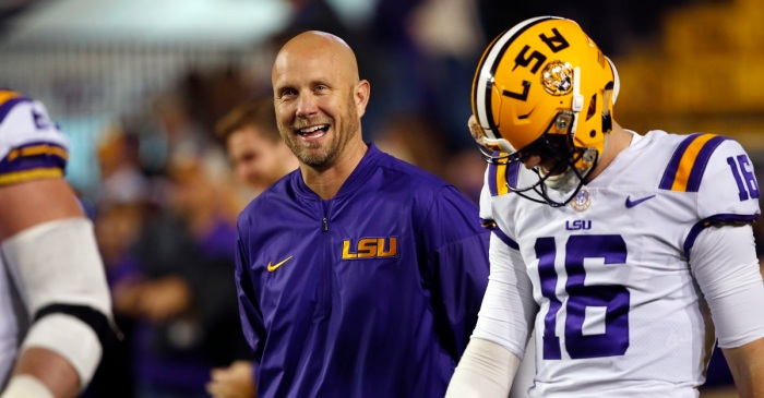 Former LSU coordinator reportedly leading candidate for Big Ten job