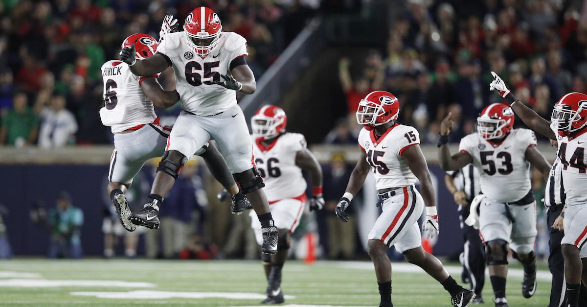 Georgia starting LB arrested hours after SEC Championship Game