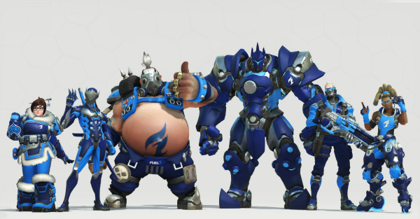 Overwatch League skins will be available to players – for a price