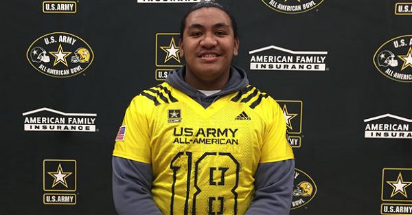 Whopping 6'5″, 349-pound OT Penei Sewell announces official decision date