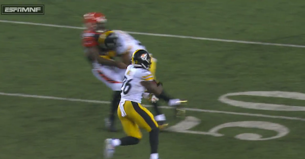 Steelers-Bengals rivalry taken to a new low with one of the dirtiest hits this season