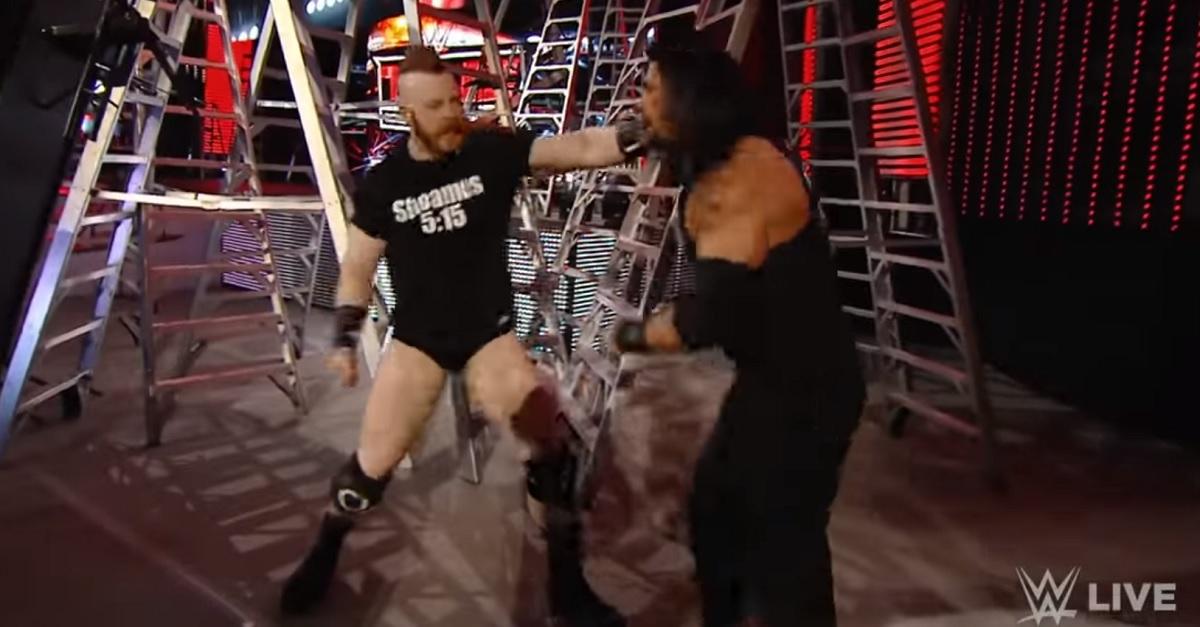 Sheamus Roman Reigns