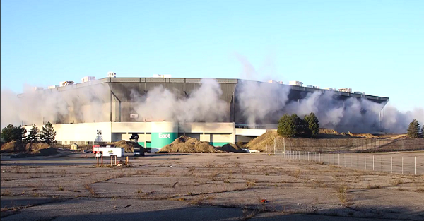 The Silverdome lets down Detroit one last time as it can't even be imploded properly