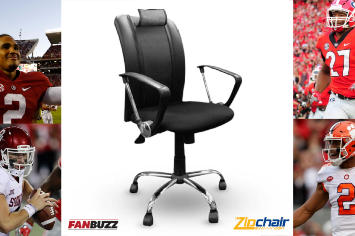 College football FanBuzz Zipchair giveaway
