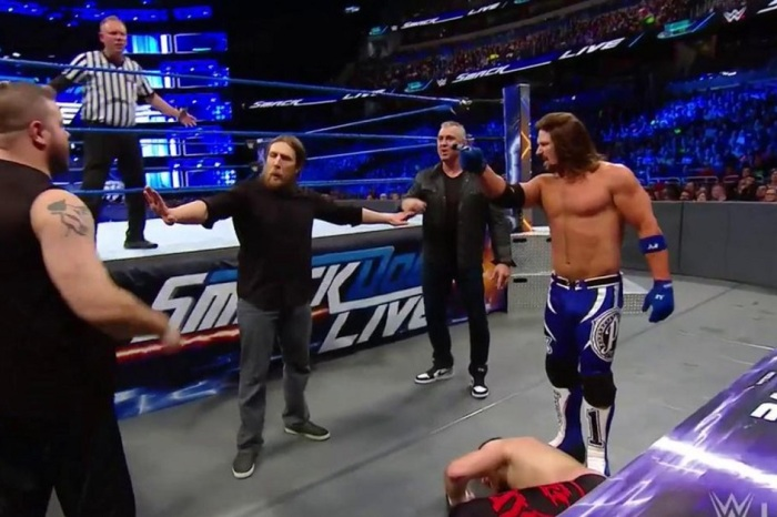 WWE SmackDown Live results: Former champ returns, WWE title match announced for Royal Rumble