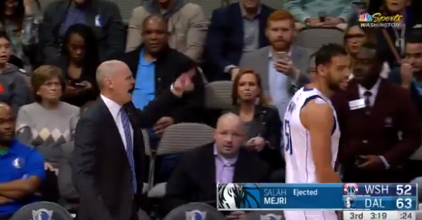 Former NBA Coach of the Year had a very NSFW message for player after getting ejected