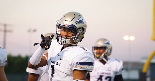 Five-star DB Chris Steele has made a major decision on his recruitment