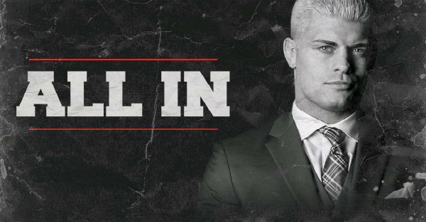 Cody Rhodes appears to announce date for 10,000-seat ...