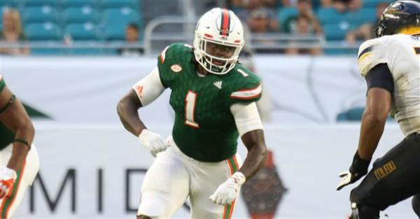 Former four-star Miami player has an official transfer destination