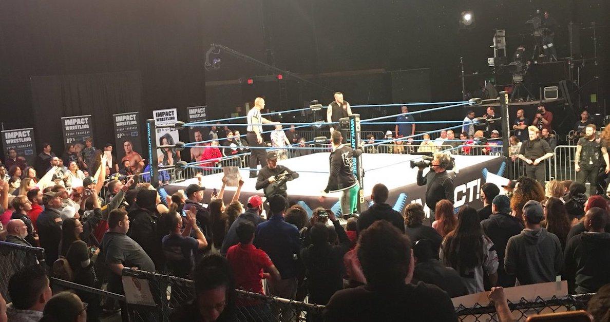 Eddie Edwards injury Impact Wrestling