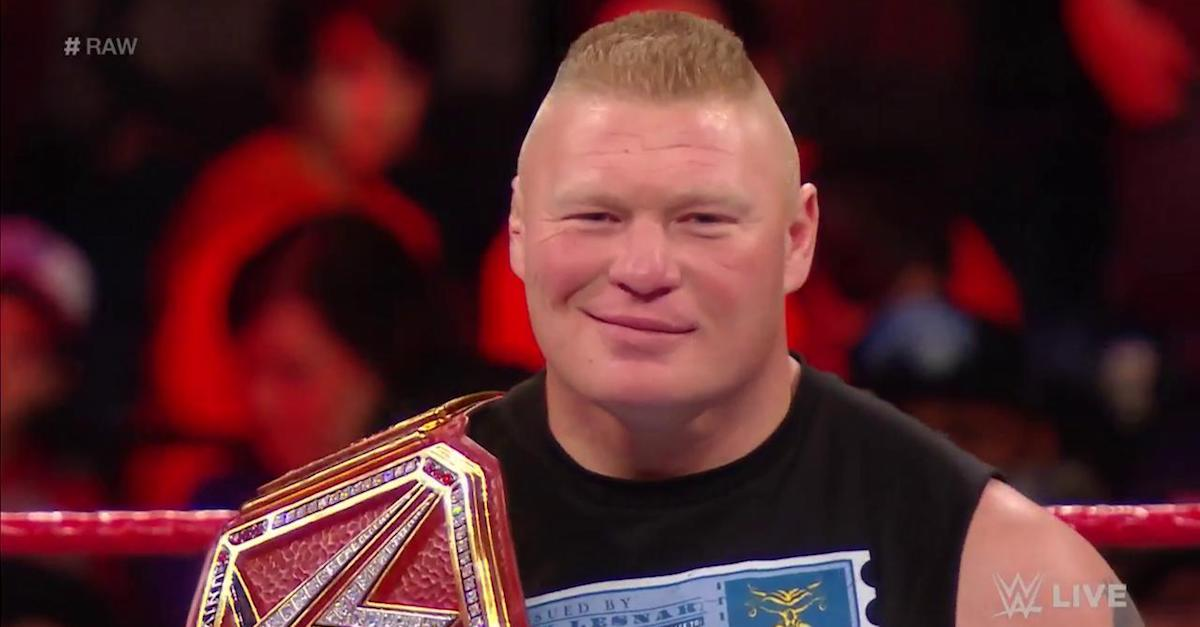 WWE Monday Night Raw results: The Miz stands tall, Brock Lesnar destroyed, Jason Jordan falls out of favor and more