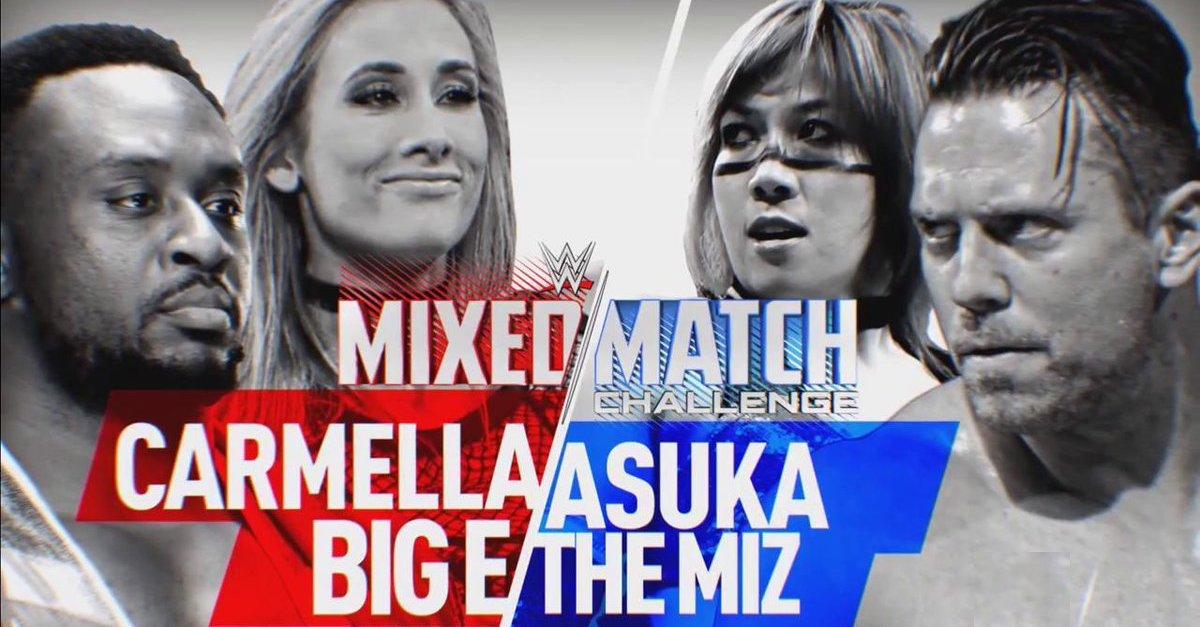 WWE Mixed Match Challenge results: The Miz and Asuka vs. Big E and Carmella