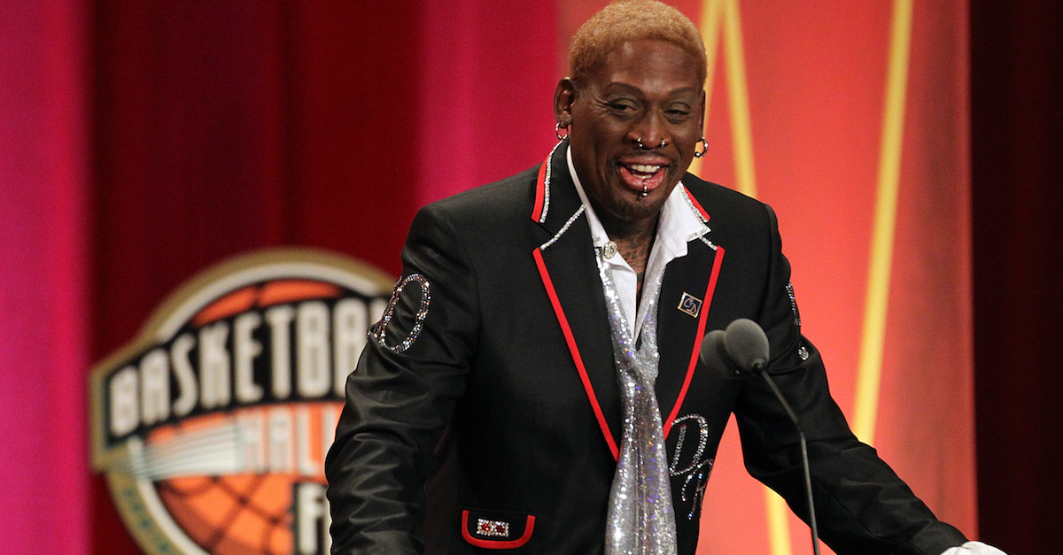 NBA Hall of Famer Dennis Rodman has reportedly been arrested