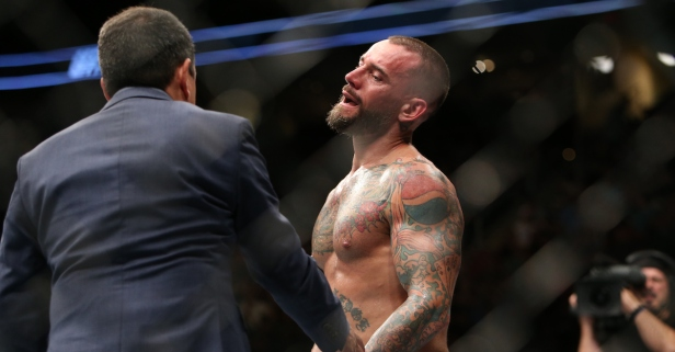 WWE star drops a verbal haymaker on CM Punk after UFC grants second fight