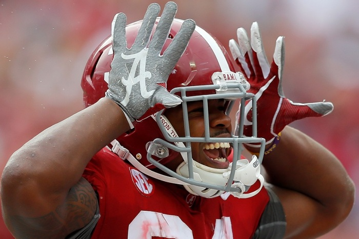 """Alabama RB keeps the """"real"""" National Championship controversy going with jab at UCF"""