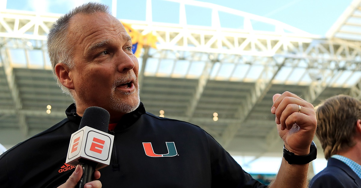 Former head coach Mark Richt sends a message to Georgia ahead of National Championship appearance