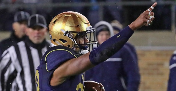 Dismissed Notre Dame WR to be held in jail after arrest