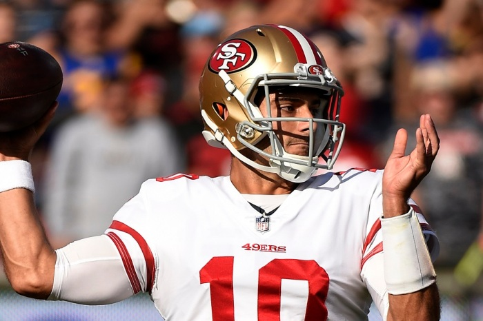 Quarterback Jimmy Garoppolo reportedly agrees to biggest deal in NFL history