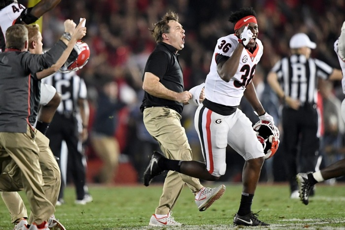 "Kirby Smart's Postgame Speech: ""How About Them F—in' Dawgs?"""