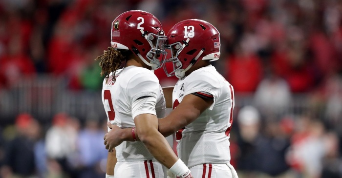 Paul Finebaum makes his prediction on the Alabama quarterback situation