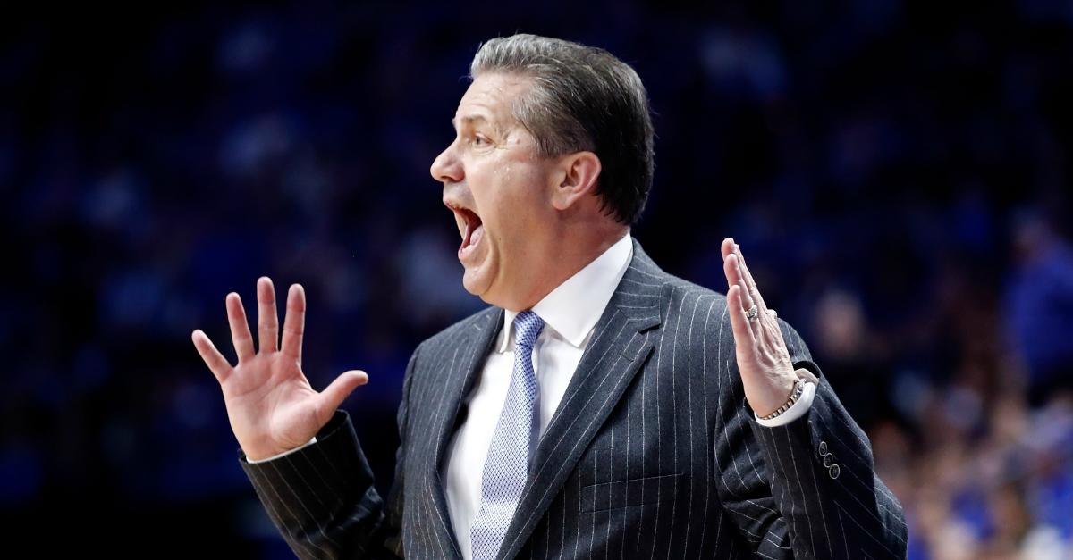 "John Calipari calls out Kentucky players for their ""unwarranted arrogance"""