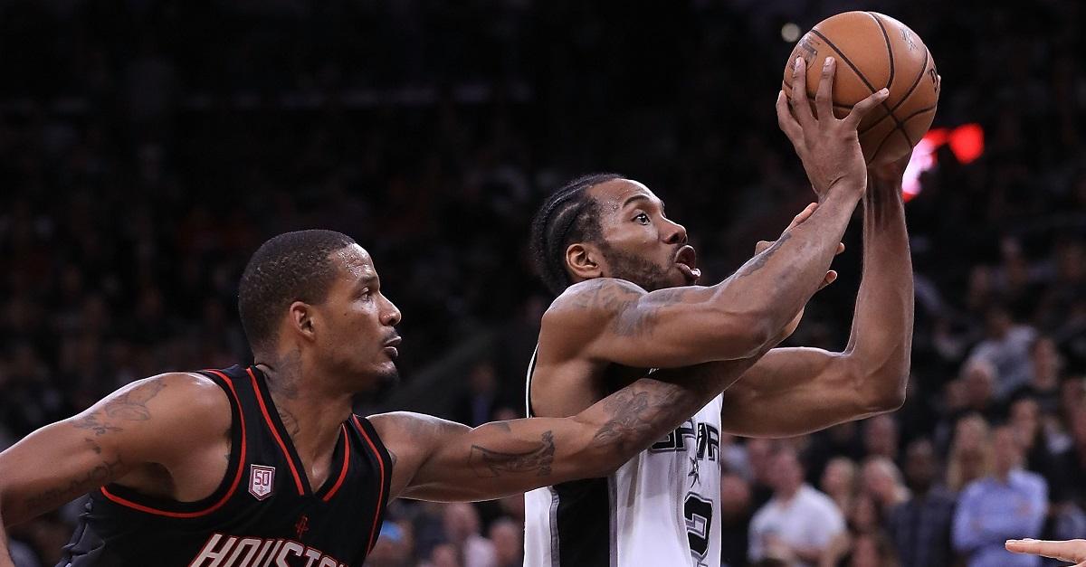 Spurs release update on injury to former Finals MVP Kawhi Leonard