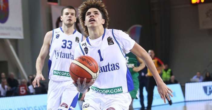 LaMelo Ball makes history for American basketball players in his first game as a pro