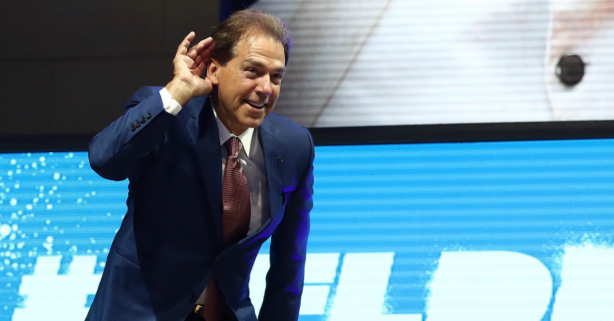 Nick Saban Proved He's Right as Alabama Players Fall in the NFL Draft