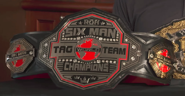 Ring of Honor reveals new championship belt designs