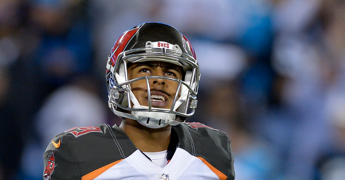 Former second-round kicker Roberto Aguayo has somehow found another team to take him on