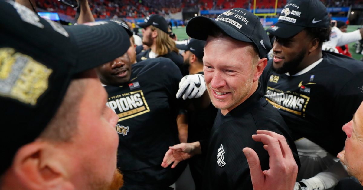 Scott Frost claims Selection Committee made conscious effort to leave UCF out of playoff