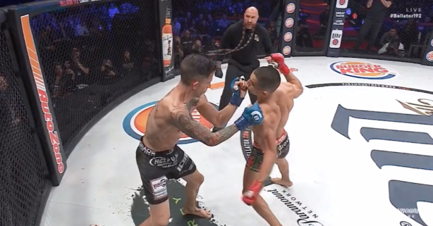 Bellator MMA fighter ends his opponent in just 37 seconds with brutal KO shot