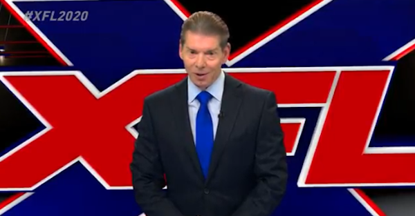 Vince McMahon officially announces plans to start professional football league