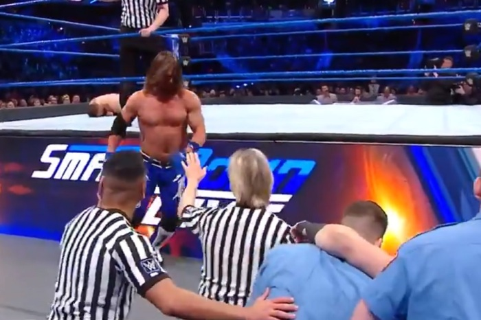 WWE SmackDown Live results: AJ Styles goes berserk in the go-home to the Royal Rumble