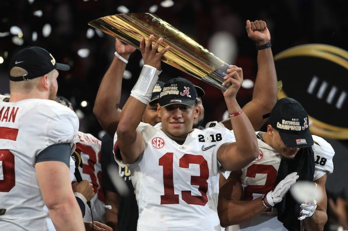 "Super Bowl winning quarterback says Tua Tagovailoa ""will win the Heisman next year"""