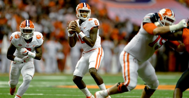 Clemson QB Zerrick Cooper has an official transfer destination
