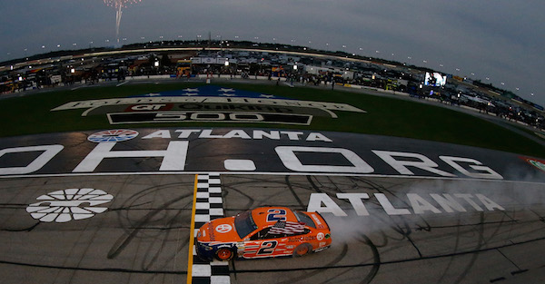 Sunday's Atlanta NASCAR race gets a new start time