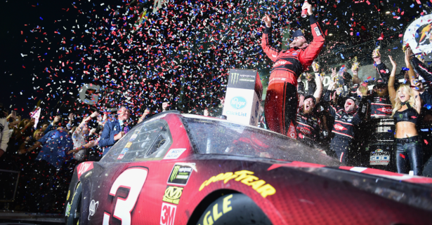 Winning the Daytona 500 wasn't even enough for first place in the NASCAR championship standings