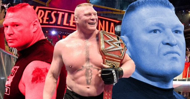 WWE star spent more time in the ring in one night than Brock Lesnar has in nearly a year