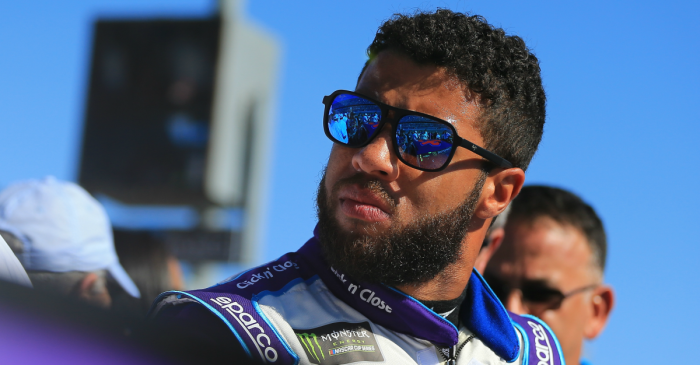 Bubba Wallace explains what happened during heated moment with Denny Hamlin after Daytona 500