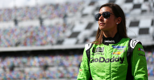 Danica Patrick posts of picture of how she and Aaron Rodgers are enjoying their offseasons