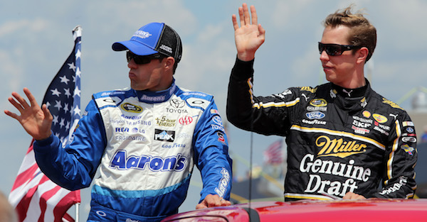 A NASCAR driver will be honored in Atlanta for hitting a major milestone