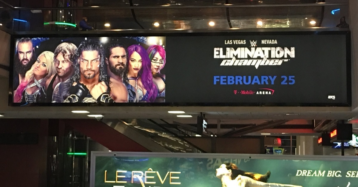 Current champion rightfully furious over WWE advertisement ahead of Elimination Chamber