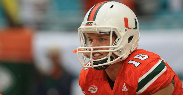 Transferring Miami QB reportedly now unblocked from three previously restricted schools