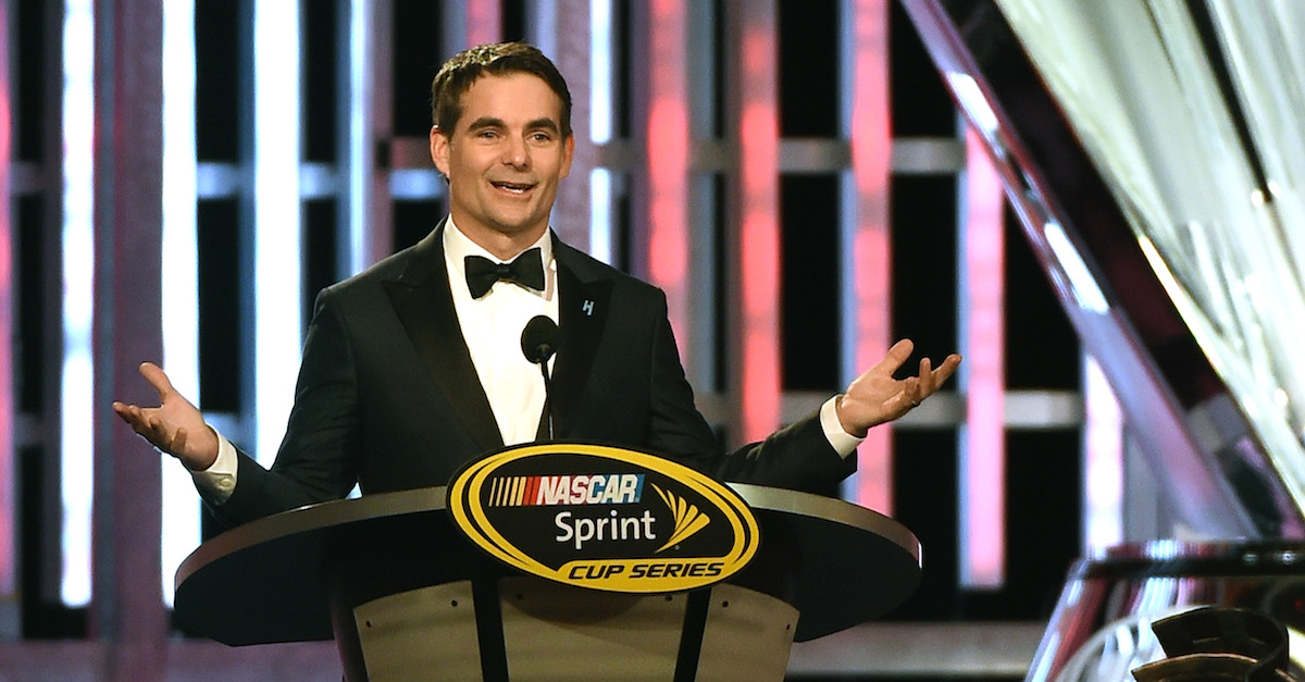 """Jeff Gordon admits he's """"always thought about"""" returning to the track in unique fashion"""