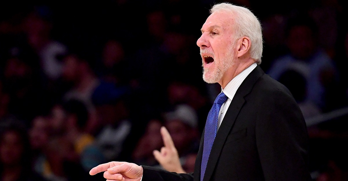 Five-time champion coach Gregg Popovich says the United State is a 'racist country'